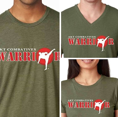 AKT Combatives Warrior T-Shirt
