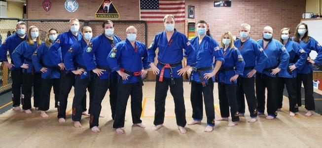 AKT Combatives-Jujitsu Black Belts